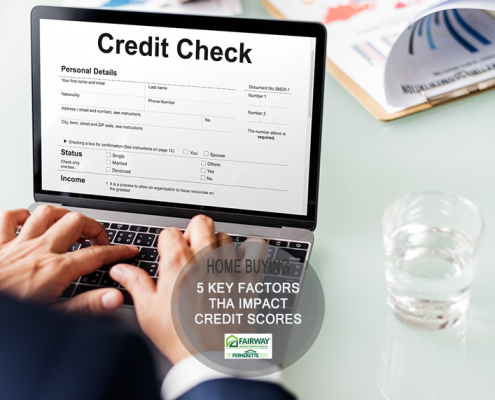 5 Key Factors that Impact Credit Scores