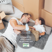 8 Things to Keep Handy on Moving Day