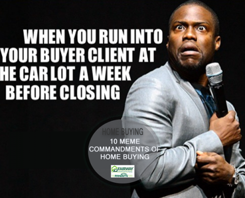 Home Buying Memes – 10 Commandments of Buying a Home