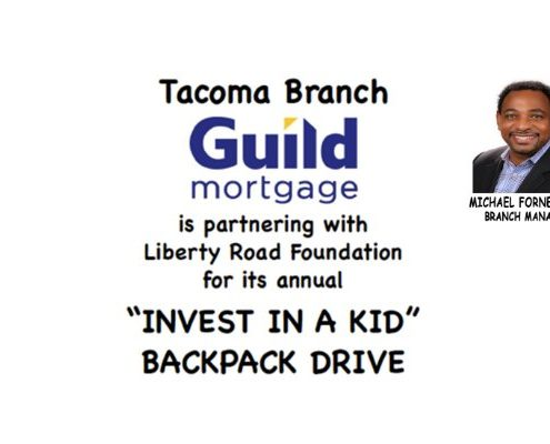 """Invest in a Kid"" Backpack Drive"