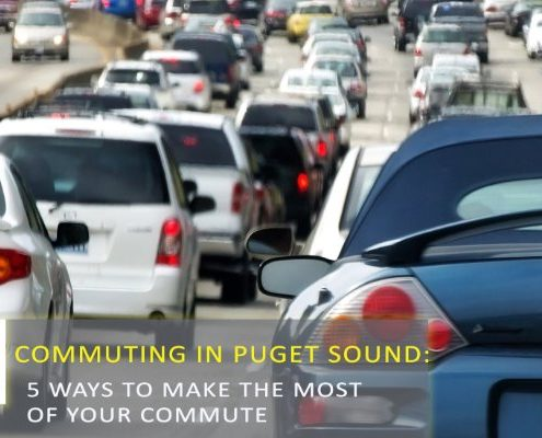 5 Ways to Make the Most of a Puget Sound Commute