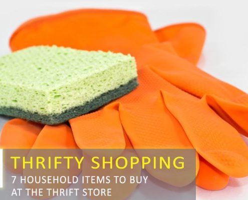 7 Essential Household Items to Buy at the Thrift Store