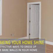 Creative Ways to Dress Up Bare Walls