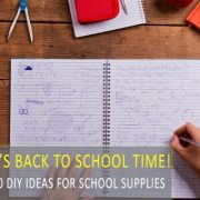 10 DIY Ideas for School Supplies