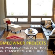 weekend projects that can give your home a wow factor