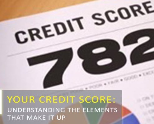 five factors that impact credit scores