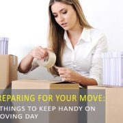 10 things to keep handy on moving day