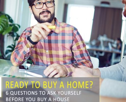 6 Questions to Ask Yourself Before Buying a Home