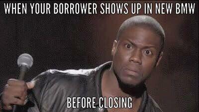 Car Loan Before Closing Mortgage