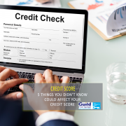 affect your credit score
