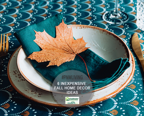 Inexpensive fall decoration ideas for new home owners