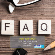 first time home buyer FAQ's