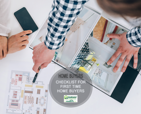 A Checklist for the First Time Home Buyer
