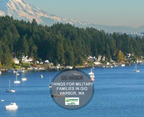 things for military families to do in Gig Harbor, Washington