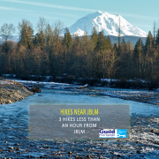 hikes less than an hour from JBLM