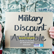 taking advantage of your military discount