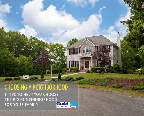 choosing the right neighborhood to buy a home