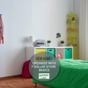 7 Dollar Store Items to Help Organize Your Home