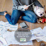 5 Ways to Pay off Debt Before Buying or Refinancing