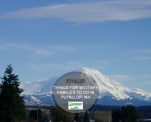 Things for Military Families to do in Puyallup, Washington