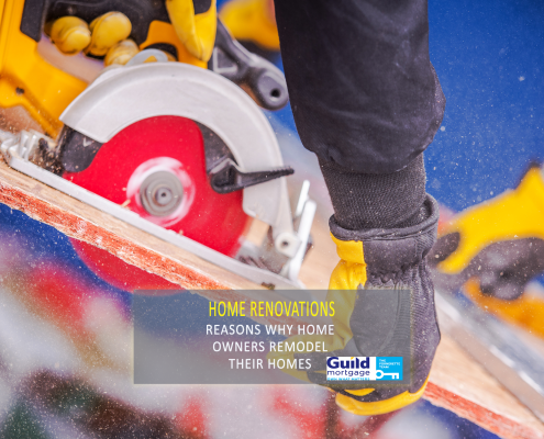 reasons home owners remodel