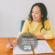 Top 6 Reasons Why Mortgage Loans Don't Close