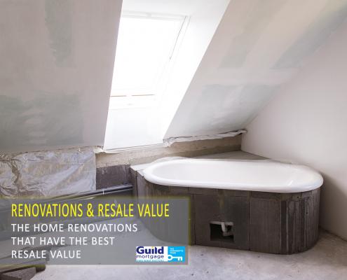 Renovations resale value