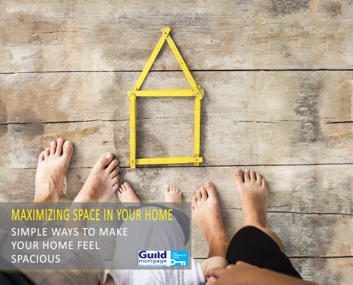 6 tricks make a small home feel more spacious