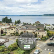 military families in steilacoom, washington