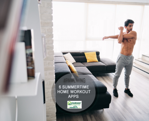6 Summertime Home Workout Apps Can Get You Moving