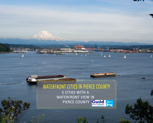 5 Cities With a Waterfront View in Pierce County - Guild Mortgage Tacoma