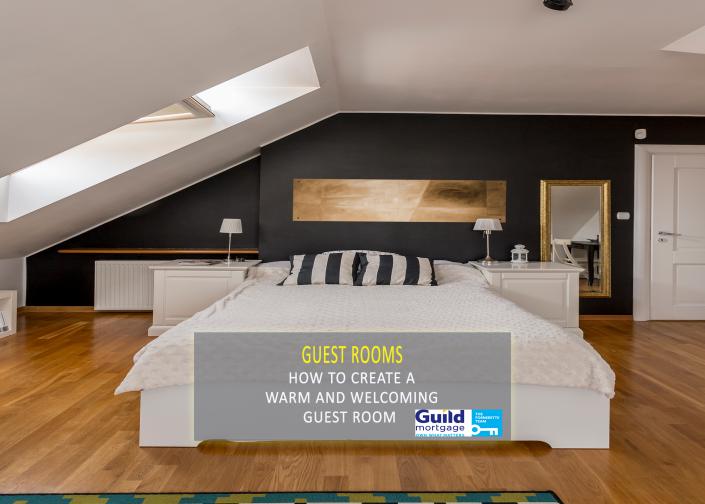 welcoming guest room