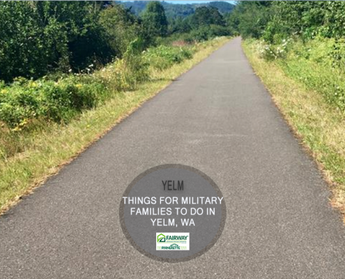 things for military families to do in yelm, washington